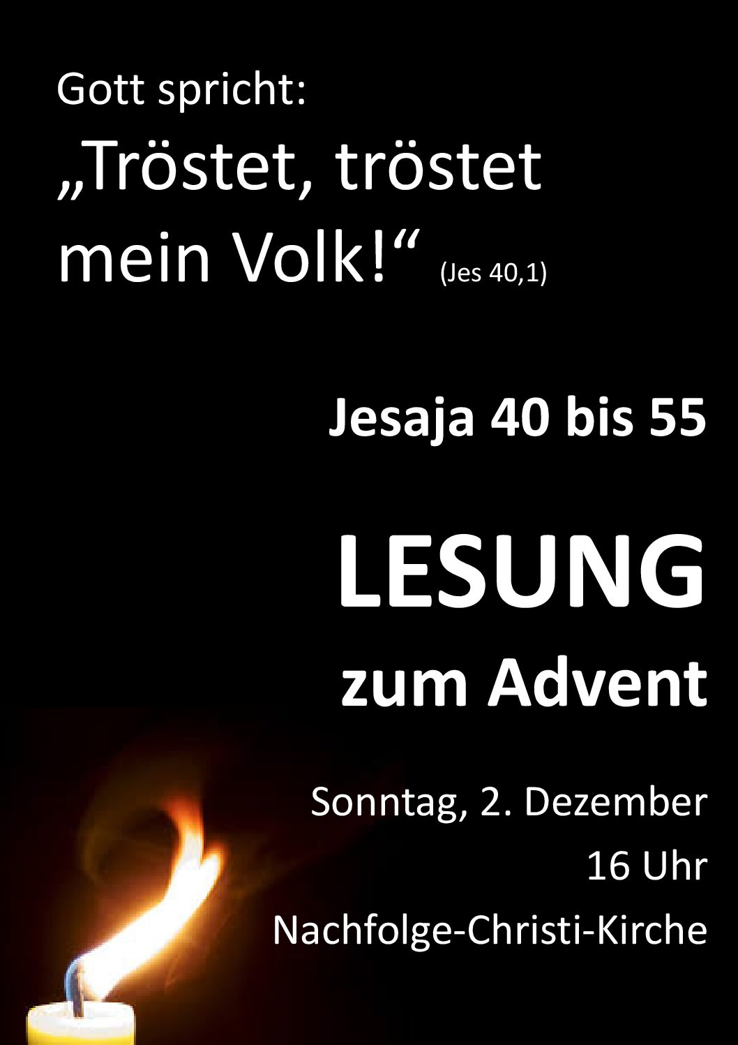 Jesaja zum Advent